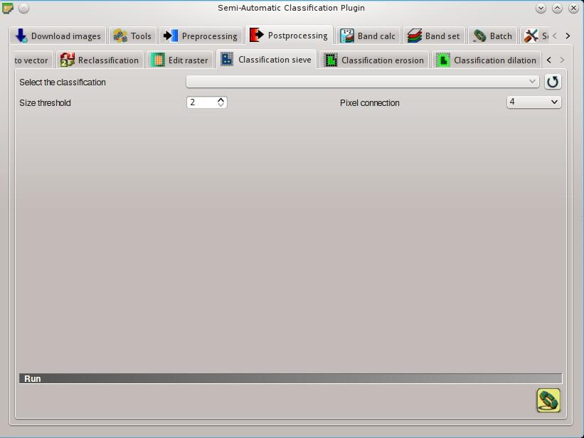 5  Main Interface Window — Semi-Automatic Classification Plugin 5 3