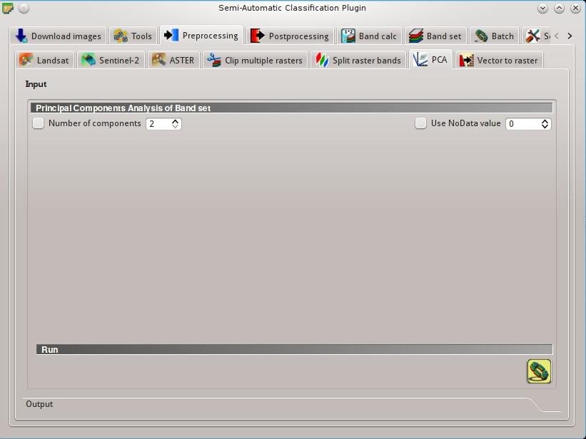 5  Main Interface Window — Semi-Automatic Classification
