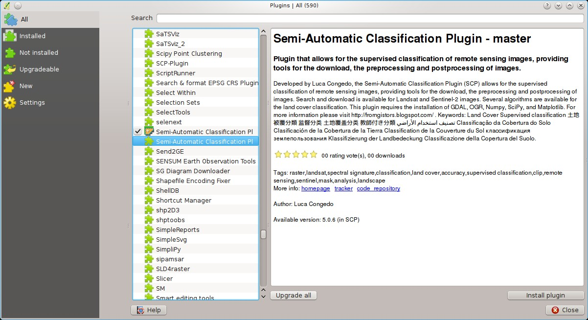 7  Frequently Asked Questions — Semi-Automatic Classification Plugin